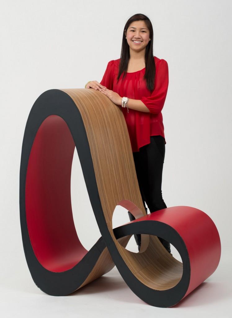 Infinite Chair by Jenny Trieu