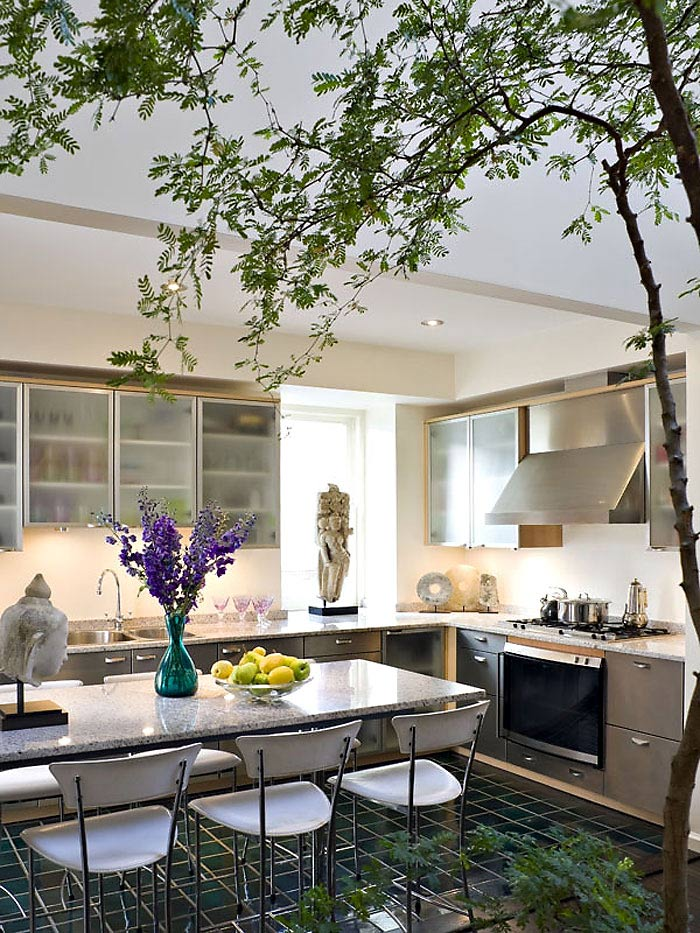 Kitchen, Penthouse in Chelsea, New York City
