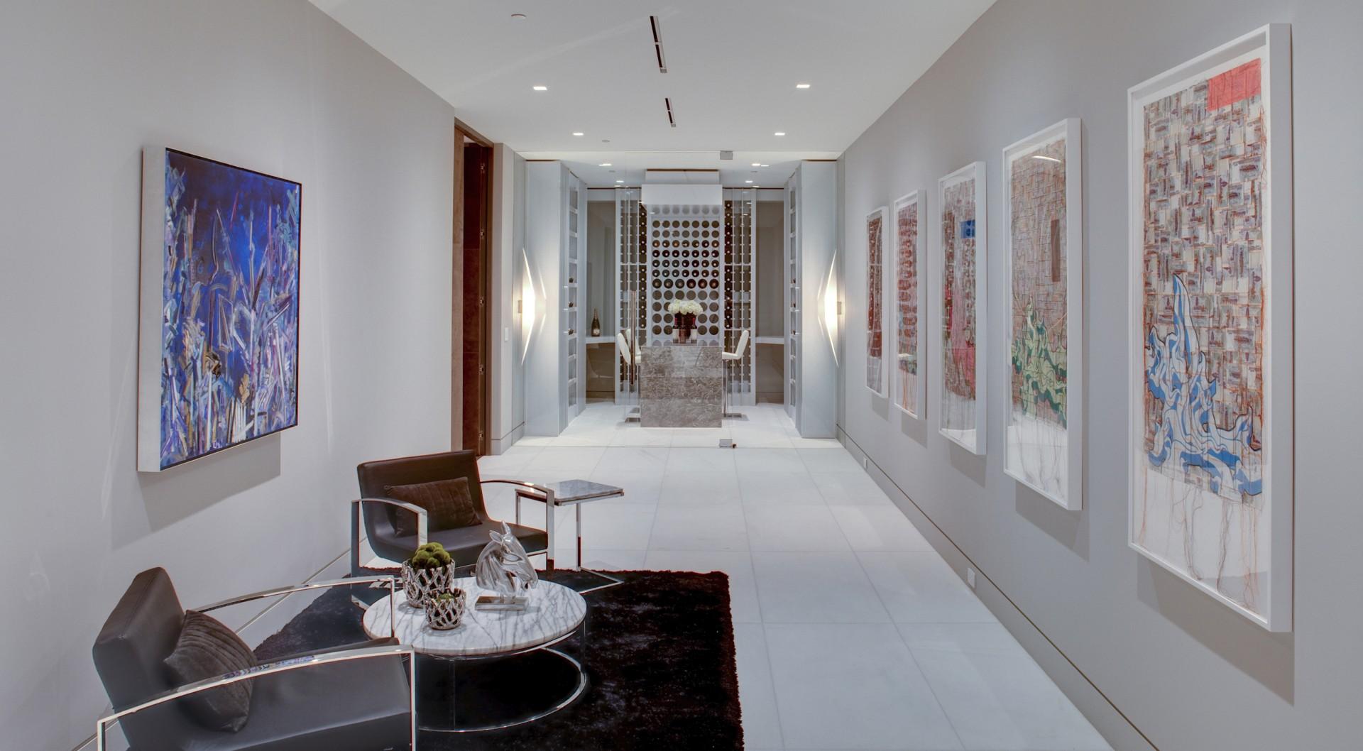 Art, Wine Room