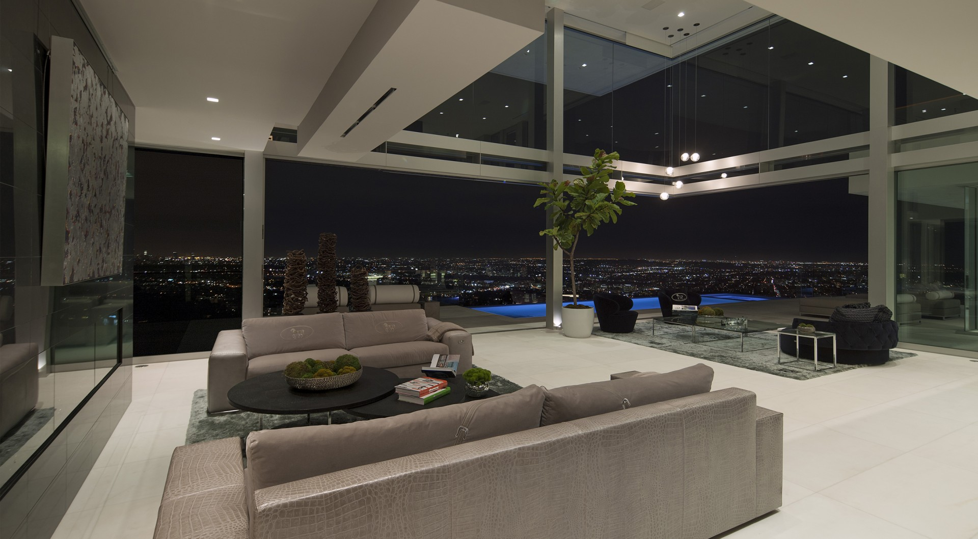 Evening, Living Room