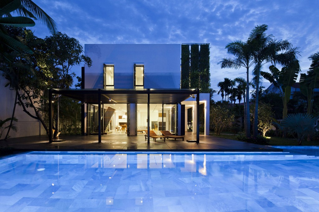 Beautiful Modern Villa in Ho Chi Minh, Vietnam
