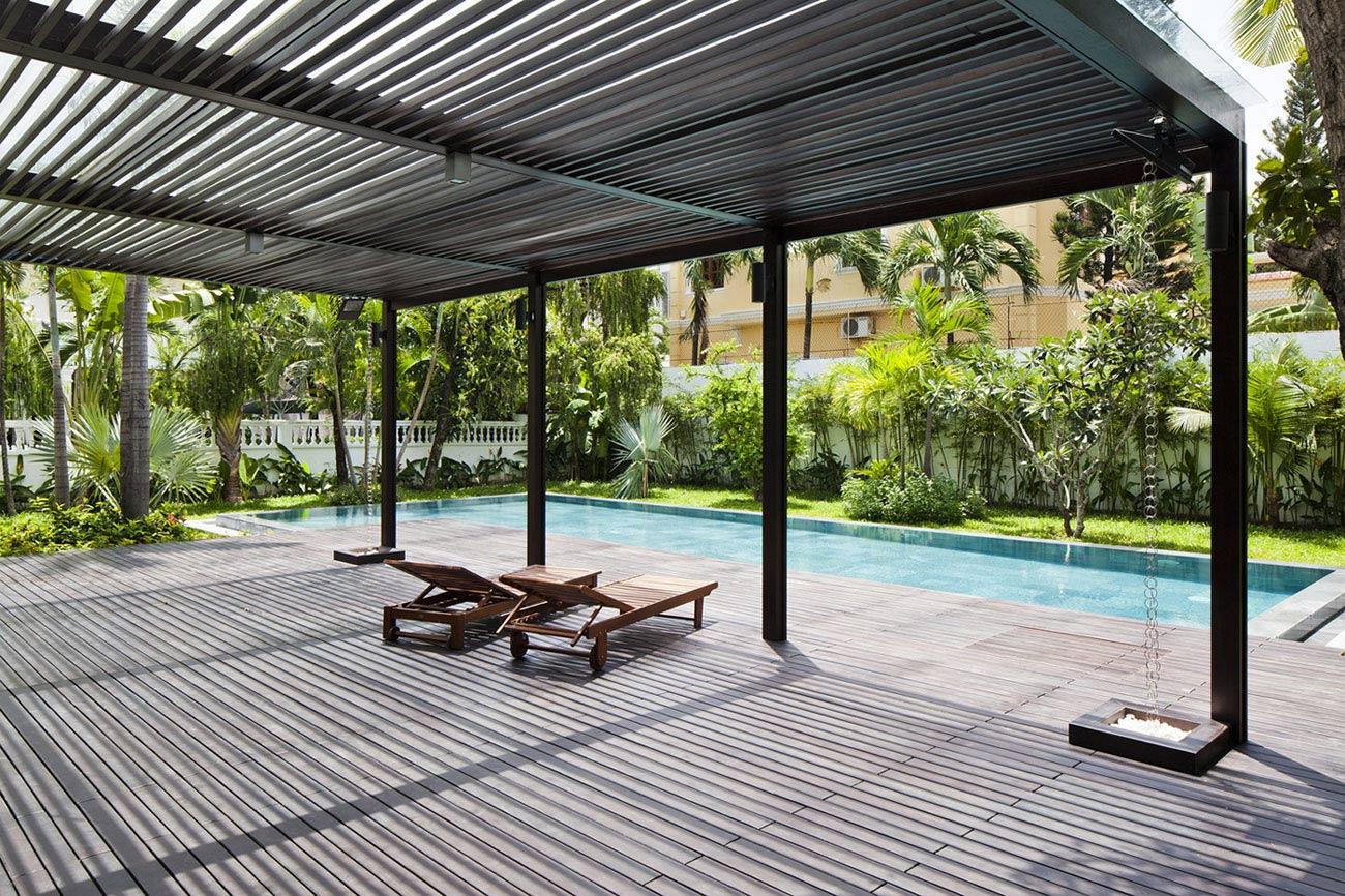 Wooden Terrace, Pool